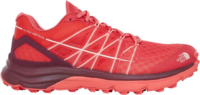 The North Face W's Ultra Vertical Shoes Cayenne Cayenne Cayenne Röd/Tropical Peach f4035a